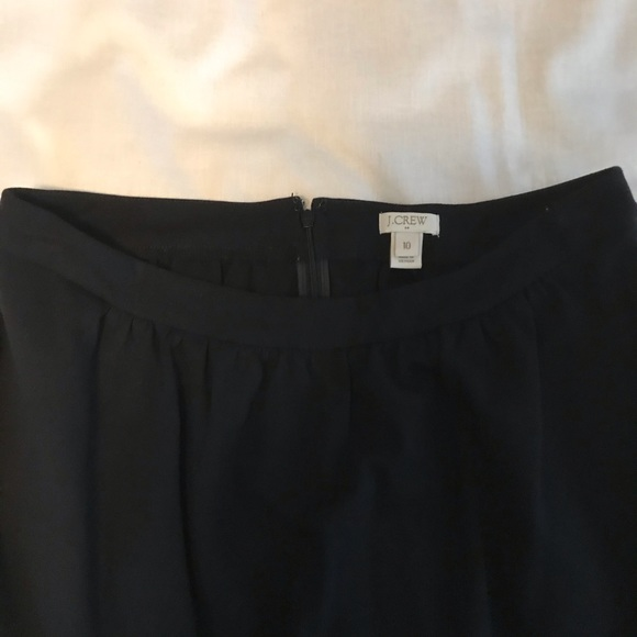 J. Crew Dresses & Skirts - J. Crew Flouncy Little Black Skirt Size 10